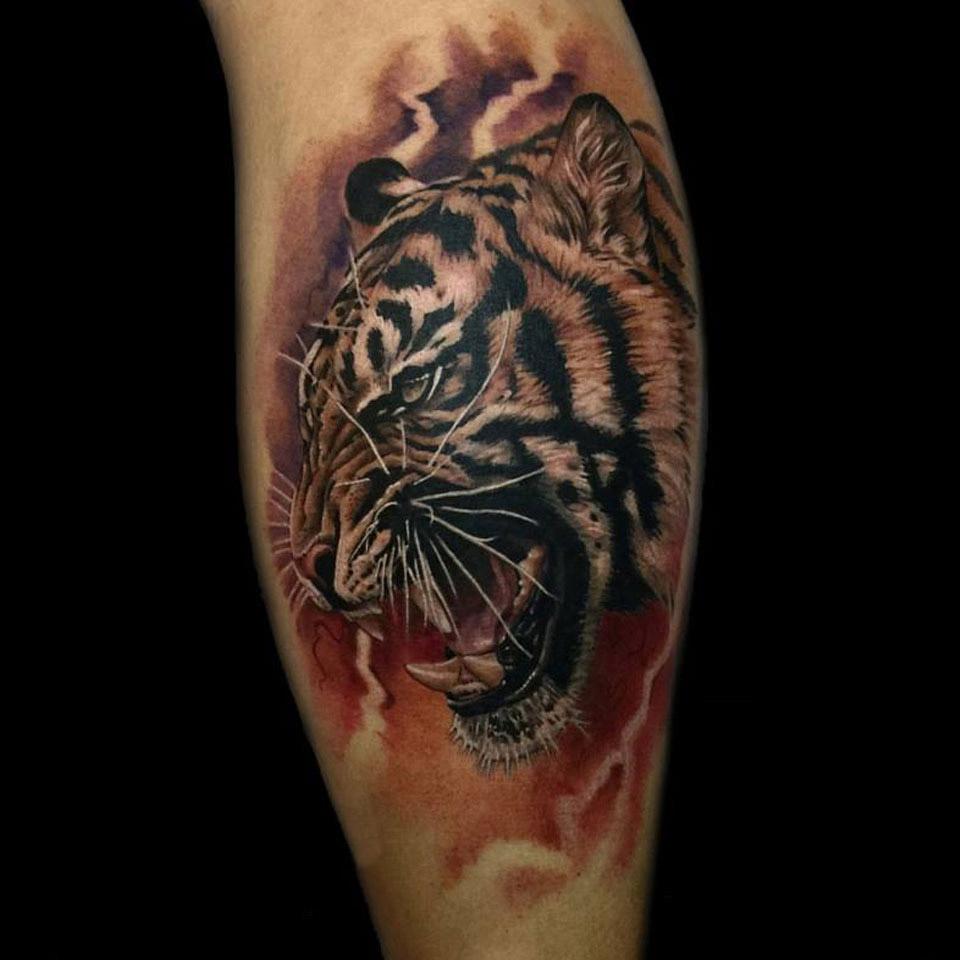 sidetiger tattoo