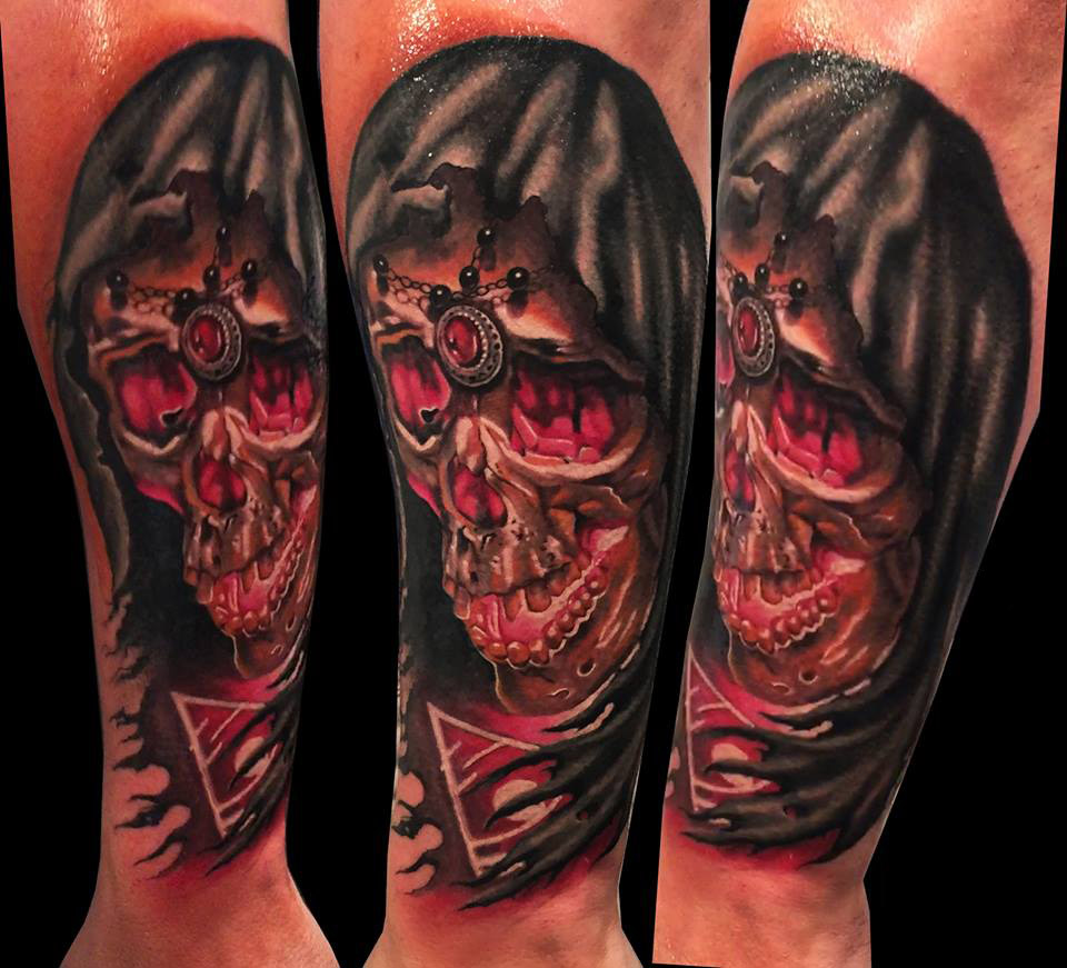 death tattoo